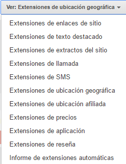 importancia extensiones de anuncio adwords