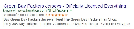 anuncio adwords green bay